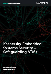 Kaspersky Embedded Systems Security – Schutz für Geldautomaten