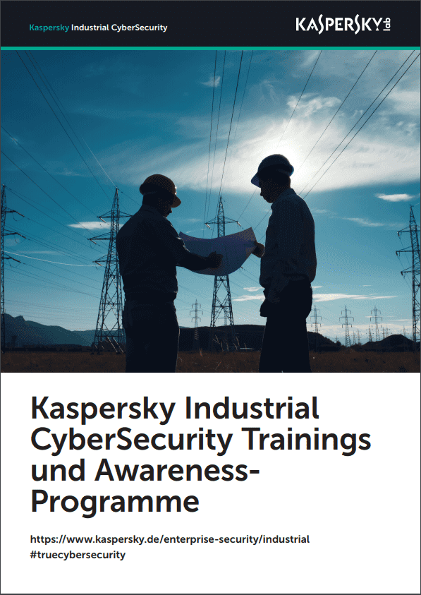 Kaspersky Industrial CyberSecurity Trainings und Awareness-Programme