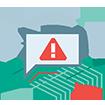Warnt Sie vor verdächtigen Webseiten