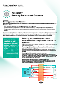 Kaspersky Security for Internet Gateway
