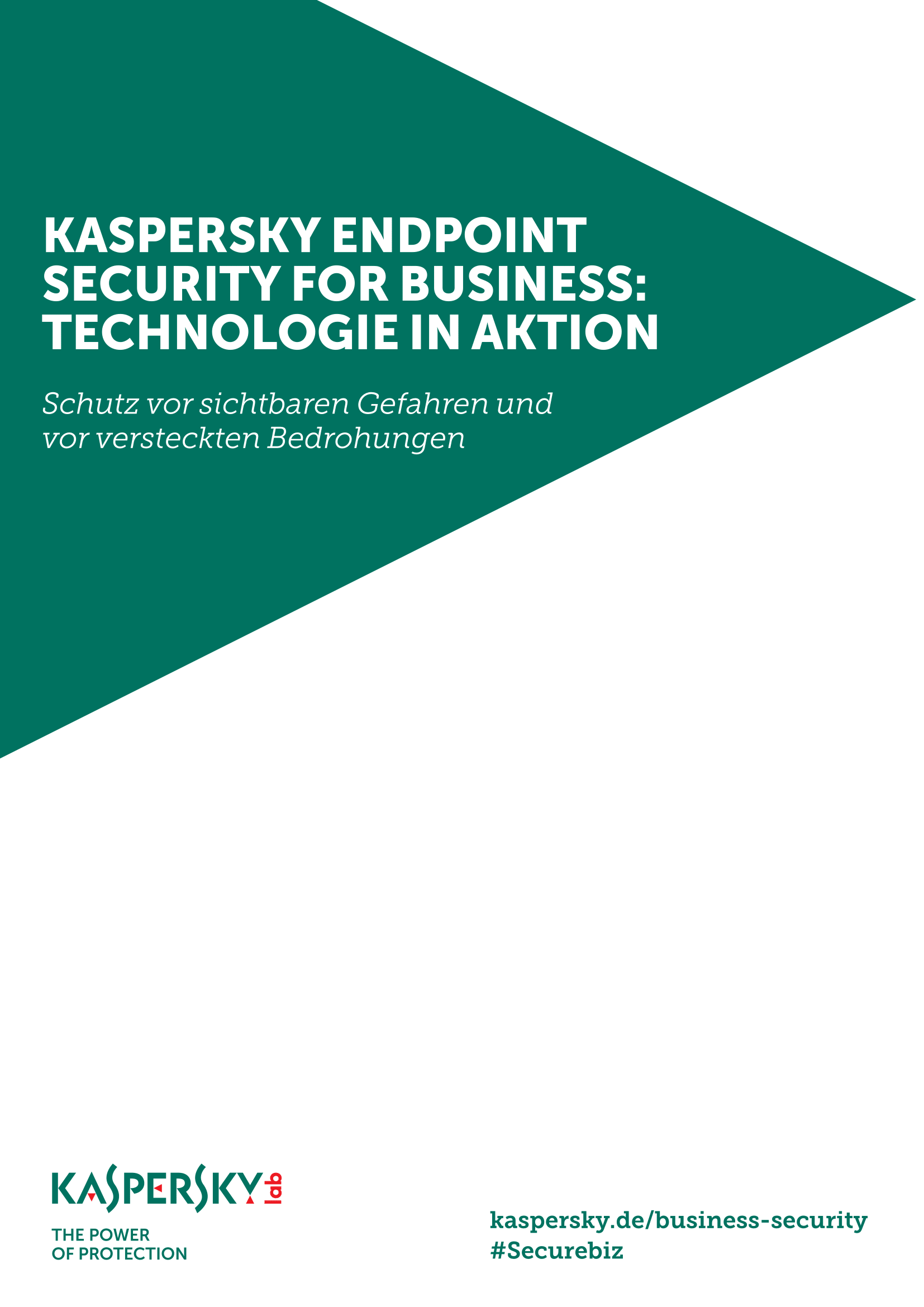 Kaspersky Endpoint Security For Business: Technologie in Aktion